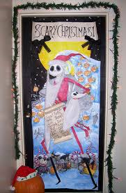 nightmare before door decorations search