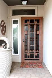 Front Door Security Gate by Best 25 Steel Security Doors Ideas On Pinterest Security Door