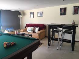 one bedroom apartment large terrace constituicao flat rent porto one bedroom apartment w balcony and pool table constituicao