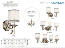 kichler 45282ap antique pewter lacey 14