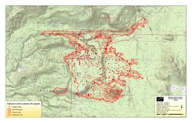 Oregon Fires Map National Creek Complex Fire Page 3