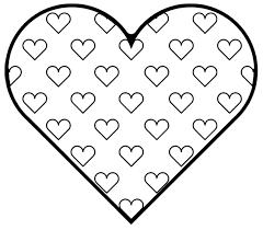 bright modern crayola valentine coloring pages valentines