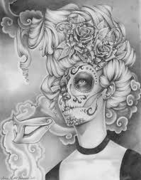 flower skull drawing 78 best images about sugar skull on