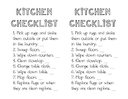 Bathroom Cleaning Schedule Form Little Gene Green Bean Weekly Saturday Cleaning Schedule