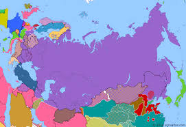 russia map after division soviet post war power historical atlas of russia 21 november