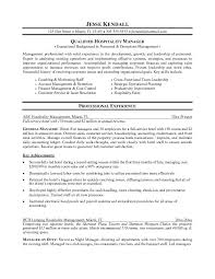 beautiful hospitality resume template pictures podhelp info