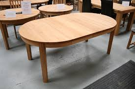 Round Dining Table Extending Round Oval Dining Table - Extendable kitchen tables