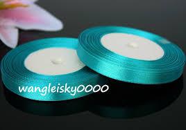 teal satin ribbon 25 yards satin ribbon wedding craft sewing decorations many color