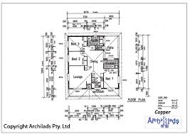 Villa Floor Plans Australia Contemporary House Floor Plans With Measurements Intended Decorating