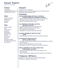 massage resume examples movie director resume example frizzigame film editor resume free resume example and writing download
