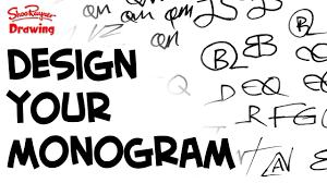 create monogram initials how to design your own amazing monogram