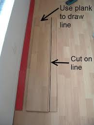 installing last row laminate flooring