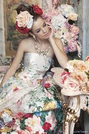 wedding dress colors flower wedding dresses 2012 collection by stella de libero flowers