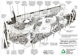 sensory garden justgiving