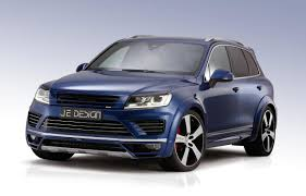 custom volkswagen tiguan je design tunes new vw touareg v8 tdi torque monster