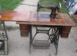 Folding Sewing Machine Table Antique Vintage Singer Folding Sewing Machine Table W Cast Iron