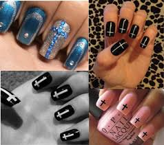 diy nail designs google search nails pinterest cross