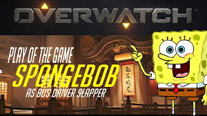 Play All The Games Meme - meme parody overwatch play of the game spongebob edition ep 04