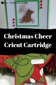 cricut christmas card cartridge christmas lights decoration