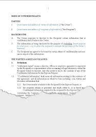 business u2013 confidentiality agreements new zealand legalmedical