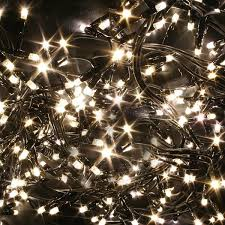 Warm White Led Christmas Lights Happy Holidays Intended For