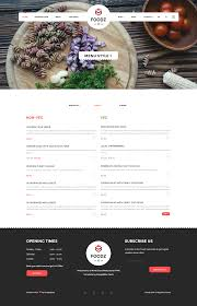 foodz restaurant spa u0026 salon joomla template by templaza