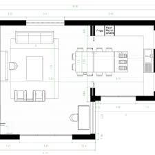 plan cuisine ouverte sur salon amenagement cuisine ouverte sur salon 10 plan salle 224 de a manger