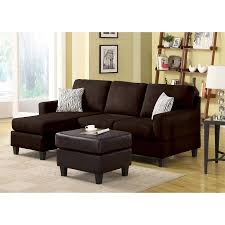 Coaster Sectional Sofa Contemporary Black Leather Sectional Sofa Left Side Chaise By
