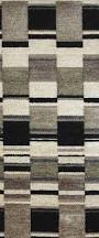 Geometric Fabrics Upholstery Mountain Cave Fabric A Geometric Black Cream Taupe Chenille Block