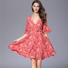 oem vintage casual dress latest dress patterns ladies korean