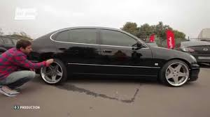 bagged lexus gs300 big test drive gs300 d2 air suspension youtube