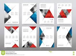 brochure layout template flyer design vector magazine booklet