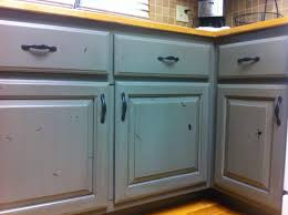 Antique Painted Kitchen Cabinets Painted Knotty Alder Cabinets With Antique Glaze Lowers Are Green