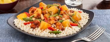 Chicken Main Dish - pineapple orange chicken entree main dish recipes dole