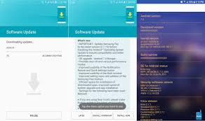 galaxy note 5 update with android 7 0 nougat roling out in europe