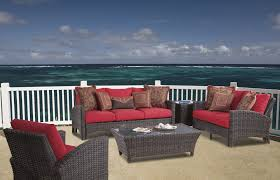 Exterior Interesting Natural South Sea Rattan For Outdoor Or - Wicker furniture nj