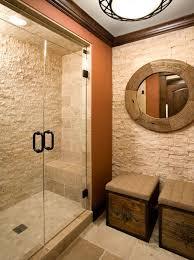 Natural Stone Bathroom Tile Stone Tile Bathroom Designs Single Black Vanity Sink Cabinet Solid