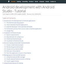developer android sdk 12 android tutorials for beginners