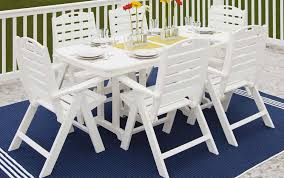 nautical patio furniture set by polywood pelican patio stores