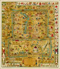 Mongolian Empire Map A Map And History Of Peiping Formerly Known As Peking Capital Of