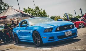 2013 mustang gt blue david patterson s 2013 ford mustang