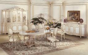 esstisch italienisches design luxus esszimmer biedermeier stühle exklusive sessel und
