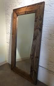 cabin floor the lake cabin rustic leaner floor mirror uwoodlikeus