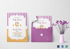 baby shower cards baby shower card template 32 free printable word pdf psd eps