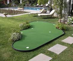 backyard putting green lighting backyard putting green kits crafts home for outdoor decorations 6