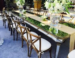 table and chair rentals nyc dining tables palace party rental