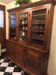 Pine Kitchen Pantry Cabinet Antique Early 1900 U0027s Pine General Store Cabinet Butler U0027s Pantry