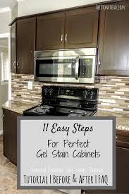 Gel Stains For Kitchen Cabinets General Finishes Gel Stain Bathroom Cabinets Kitchens And House