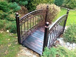 Decorative Item For Home Metal Garden Bridge Decorative And Functional Item For Home