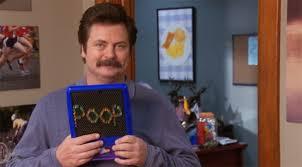Ron Swanson Circle Desk Episode Shakesville 1 20 13 1 27 13